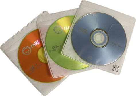 case logic cds  prosleeves double sided cd sleeve