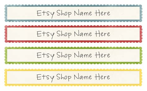 etsy shop banners june lily design illustration and