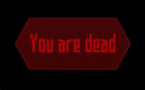 Youre Was Dead you are dead sao by mixeddreams on deviantart