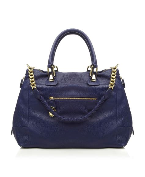 Steve Madden Bag by Steve Madden B Sociall Sm Chain Handle Tote Bag In Blue Lyst