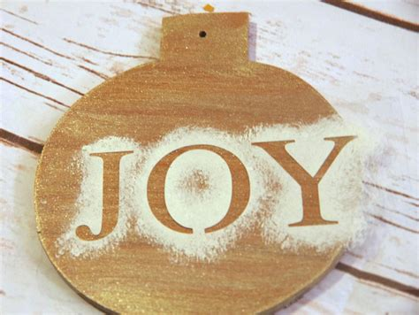 Handmade Wooden Ornaments - handmade wooden ornament create and babble