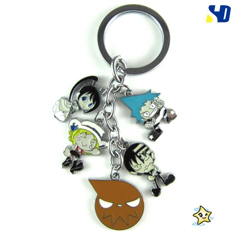 Anime Keychains by Metal Figure Keychain Xa274 2 3 00
