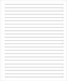 Template Notebook by Printable Notebook Paper 9 Free Pdf Documents