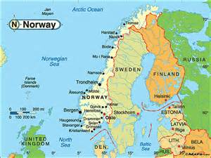 World Map Norway by Norway Driving Map Submited Images