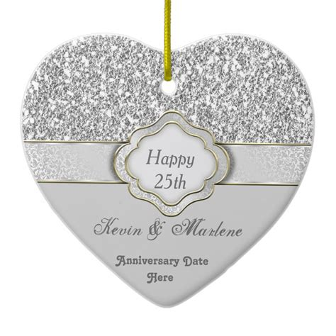 25th wedding anniversary gift ideas silver gift ideas for 25th wedding anniversary inexpensive