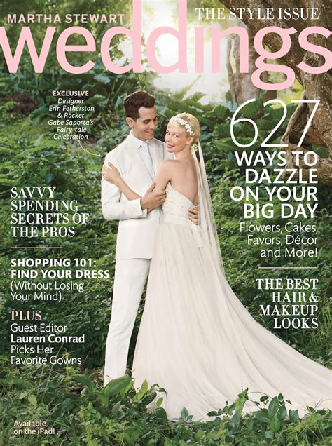 Martha Stewart Weddings by Exclusive Peek Inside Martha Stewart Weddings Fall 2013