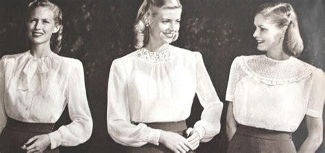White Berry Lblouse Original 1940s blouses button up crop t shirt peasant top history