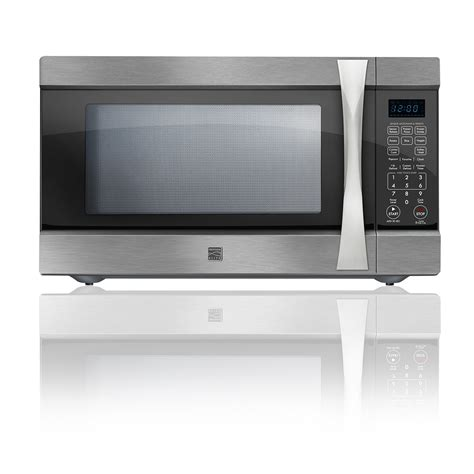kenmore elite 74223 2 2 cu ft countertop microwave w