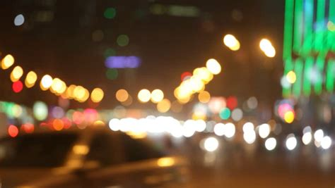 traffic lights tartlet my cafe night city lights and traffic background out of focus
