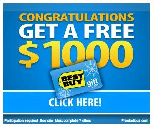Completely Free Gift Cards - free 1 000 best buy gift card at totally free stufftotally free stuff