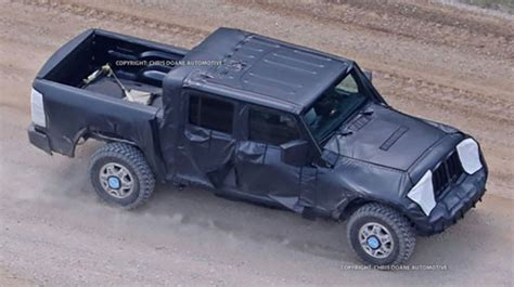 Diesel Powered Jeep by 2019 Jeep Spied Diesel Powered Rubicon Edition