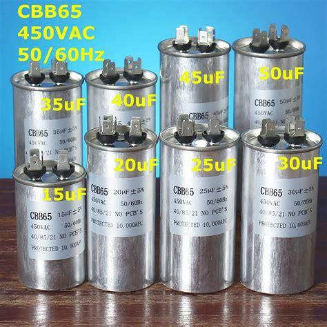 uf motor capacitor cbb vac air conditioner