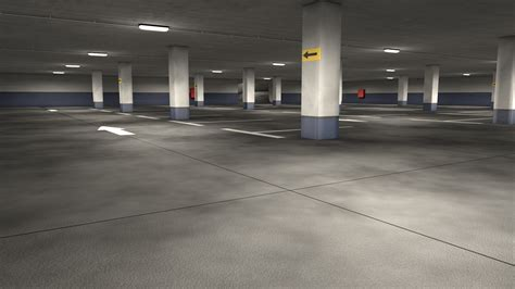 Parks Garage by Parking Garage By 3dtreatment 3docean