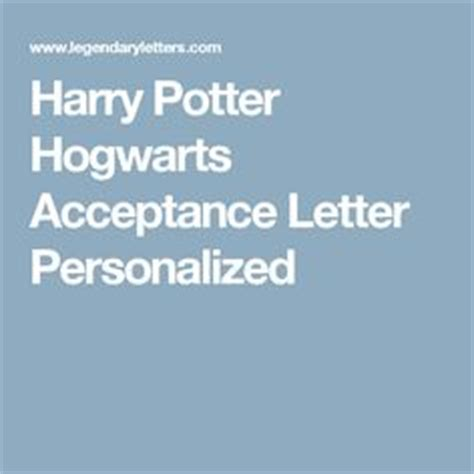 Harry Potter Acceptance Letter Doc Hogwarts Acceptance Letter Template Docs Templates Pins I Attempted