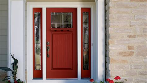exterior doors exterior wood door with sidelights narrow window
