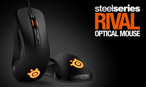 Mouse Steelseries Rival steelseries rival optical mouse review hardwareheaven comhardwareheaven