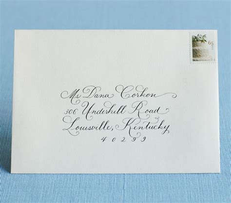 how to address wedding invites how to address wedding invitations real simple
