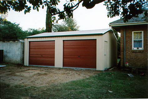 gutter side entry garage  shed world