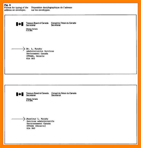 Address Canada 5 How To Write Address On Envelope Canada Emt Resume