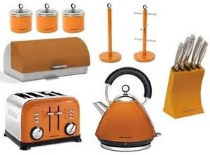 Morphy Richards Toaster Orange Orange9pcset Morphy Richards 14 Pc Kitchen Set Kettle