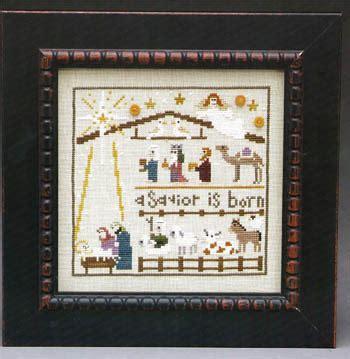 ornament cross stitch heaven and earth designs nativity the cross stitch