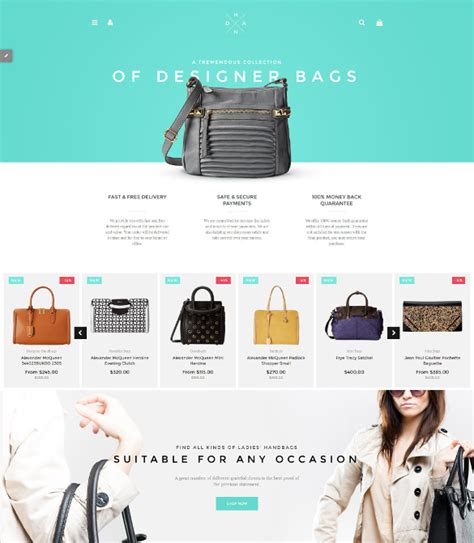 Boutique Template by 20 Boutique Website Themes Templates Free Premium