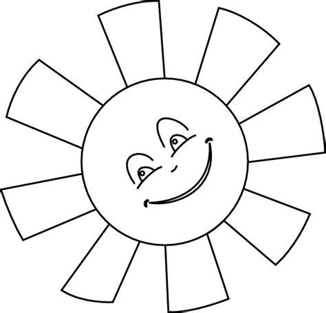 template of a sun sun outline clip at clker vector clip