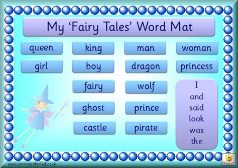 Tale Word Mat by Literacy