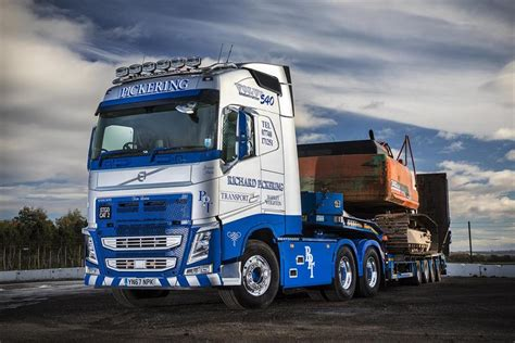 volvo transport pickering transport in tandem with volvo fh