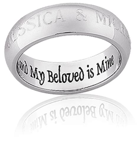 ideas for wedding band engraving the wedding