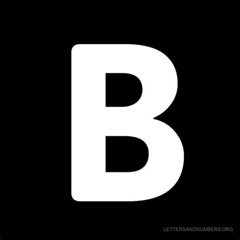 Black Letter Black Letter B Pictures To Pin On Pinsdaddy
