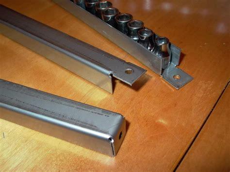 socket organizer tray diy custom stainless steel socket trays page 1 storage solutions the garage gazette tool