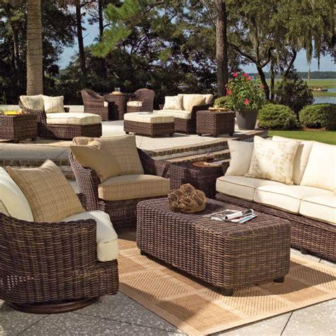 sonoma wicker deep seating set by woodard