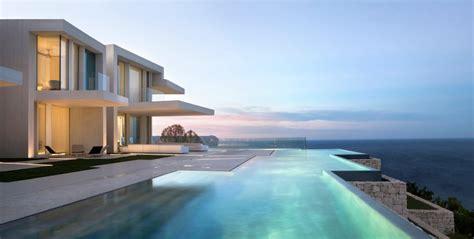Contemporary Hillside Sardinera House Overlooking the