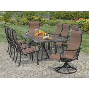 Bjs Outdoor Patio Furniture by Living Home Outdoors Toscano 9 Piece Dining Set Bj S