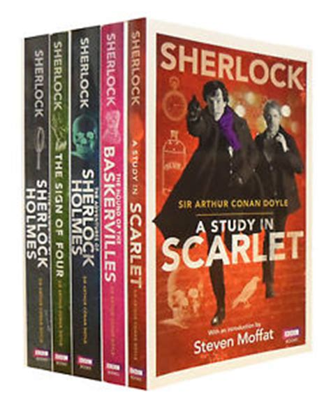 of sherlock books sherlock 5 books set collection sir arthur conan