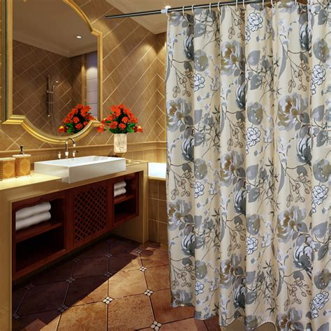 Luxurious Shower Curtains Dreamy White Lace Luxury Shower Curtains How To Design Luxury Bathroom In Classic Style