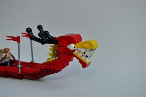 dragon boat lego lego ideas red dragon boat
