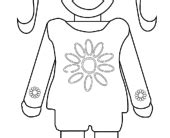 Coloring Pages Free Printable Girl Scout Coloring Pages Scout Petal Coloring Page Free