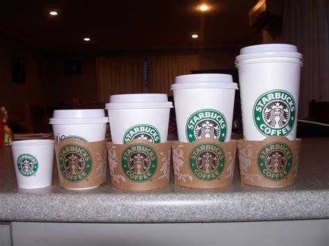 starbucks coffee sizes by cutie kitty pie on deviantart