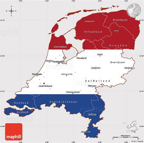 map   netherlands  travel information