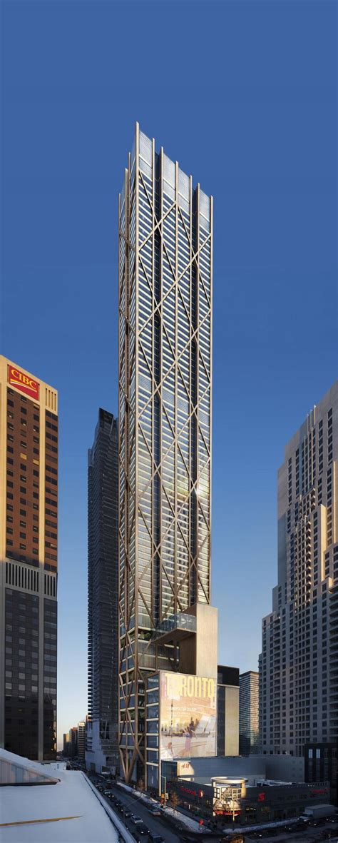 Residential Building Floor Plans by First Look New Yonge And Bloor Tower Would Be Toronto S