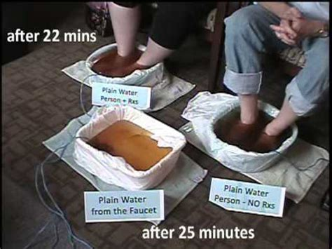 Do Ionic Detox Foot Baths Really Work by Believe It Or Not Presents A Foot Detox Musica