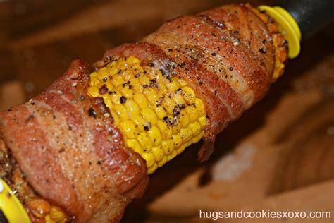 Roasted Corn bacon roasted corn hugs and cookies xoxo