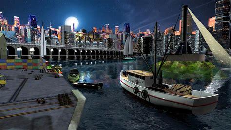 boat simulator video game fishing boat driving simulator ship games android apps