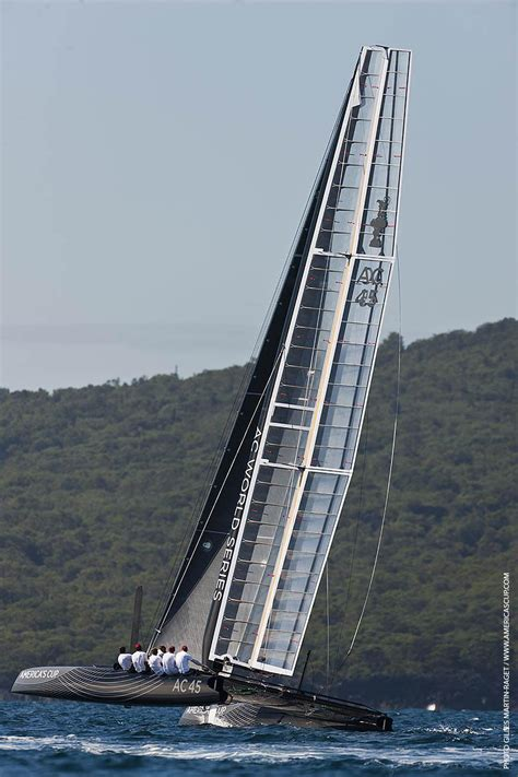 boat building jobs nz ac45 wing sailed catamaran under sail in auckland