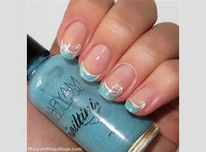 40 French Tip Nails with Design Art | Nail Design Ideaz ... French Tip Nail Designs With Glitter