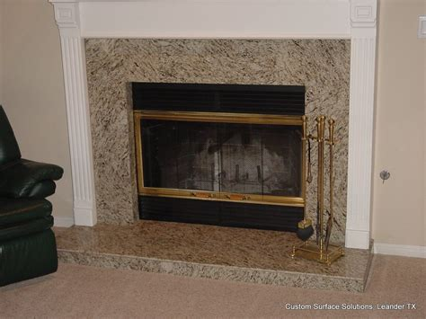 granite fireplace hearth family room traditional with