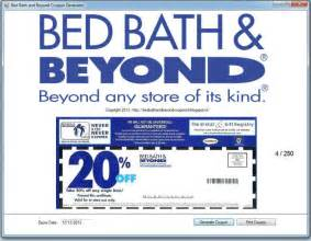 free printable bed bath and beyond coupon december 2016