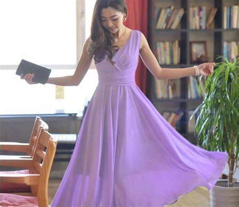 Dress Cantik Ungu dress warna ungu cantik terbaru myrosefashion